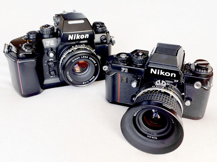 Nikon_F3 & F4_1